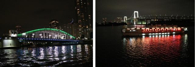 墨田川の夜景